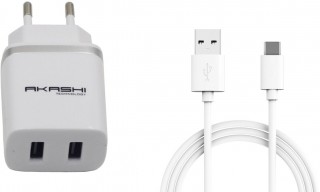 Chargeur secteur gsm akashi - ALTACTYPEC 2 AW