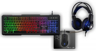 Ens clavier + souris the g-lab - COMBO-XENON