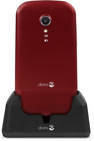 Gsm portable seul doro - 2404 ROUGE