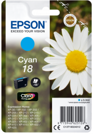 Consommable (consimpr) epson - C 13 T 18024012