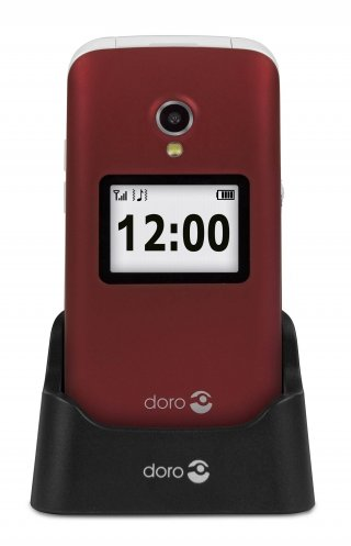 Gsm portable seul doro - 2424 ROUGE