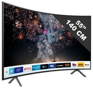 SAMSUNG TV 4K UHD 55'', Smart TV, 1500 PQI  55RU7305