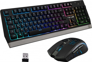 Ens clavier + souris the g-lab - COMBO-TUNGSTEN/FR