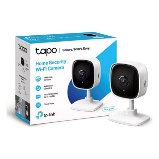 Caméra IP TP-Link Tapo C100 1080 px WiFi Blanc