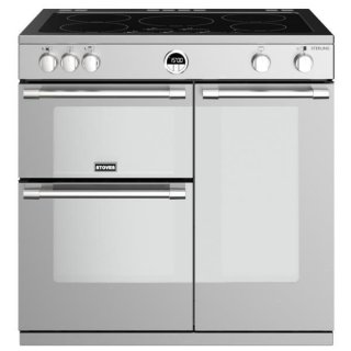 STOVES PSTERS90EISS PIANO CUISSON STERLING S 90 EI  INOX