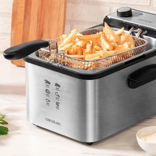 Friteuse Cecotec CleanFry Infinity 3000 3 L 2400W Acier inoxydable