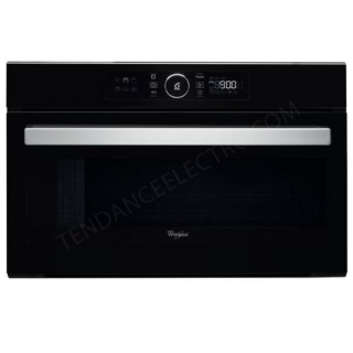 Micro-ondes encastrable gril WHIRLPOOL AMW730NB