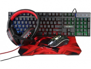 NEOXEO - Clavier gamer GMK-05-KIT4IN1 pack gamer clavier+souris+casque