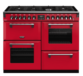 STOVES PRICHDX110DFJAL PIANO CUISSON RICHMOND DELUXE 110 DFT ROUGE JALAPENO