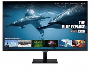 SAMSUNG - Ecran 27 pouces Full HD MONITEUR Samsung Smart LS27AM500NR 27