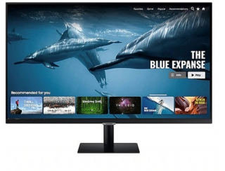 SAMSUNG - Ecran 32 pouces Full HD MONITEUR Samsung Smart LS32AM500NR Full HD