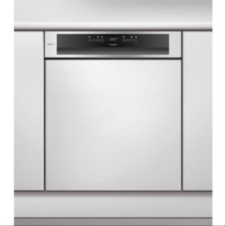 Lave-vaisselle intégrable WHIRLPOOL WCBO3T123PFI