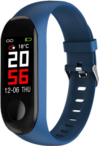 Montres connectees abys - ABYX-FIT-SMART 3-DBLU