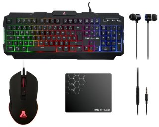 Ens clavier + souris the g-lab - COMBO-HELIUM/FR