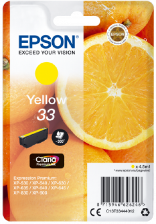 Consommable (consimpr) epson - C 13 T 33444012