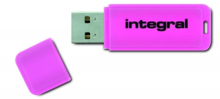 Cle usb integral - NEON ROSE 128 GO