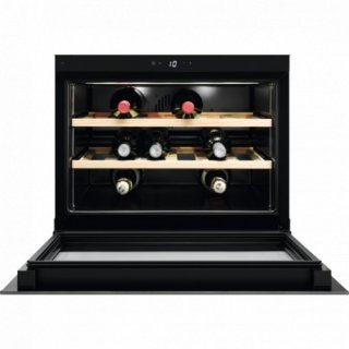 ELECTROLUX KBW5T CAVE A VIN COMPACT NICHE 45CM FROID BRASSE COMMANDES ELECTRO