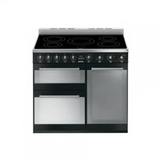 SMEG SY93IBL CTRE CUIS CARREE 90CM 5 INDUC5