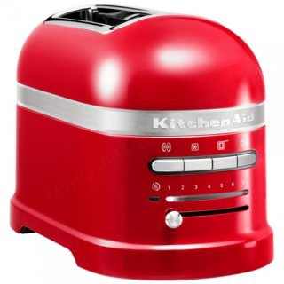 KITCHENAID 5KMT2204EER GRILLE-PAIN 2TRANCHES ARTISAN ROUGE EMPIRE
