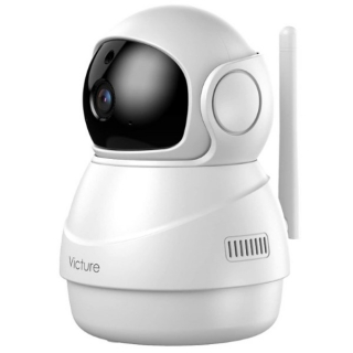 Caméra IP 360º Wifi 1080p 2.4 Ghz Blanc (Refurbished A+)