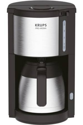 KRUPS KM305D10 CAFETIERE PRO AROMA ISOTHERME NOIR INOX