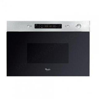 Micro-ondes encastrable gril WHIRLPOOL AMW492IX