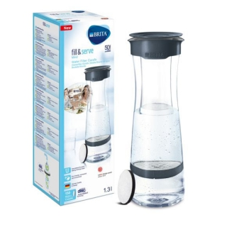 BRITA - Carafe Fill & Serve Mind gris foncé 1030345