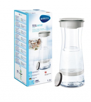BRITA - Carafe Fill & Serve Mind gris pastel 1031311