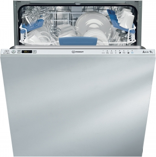 INDESIT DIFP66B+9EU LV TT INT 60CM 46DB 9L A++ 14 COUVERTS PROGR. CYCLE EXTRA
