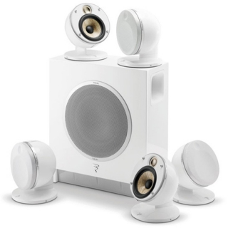 FOCAL - Pack d'enceintes Home Cinema DOMEFLAX5.1WHT
