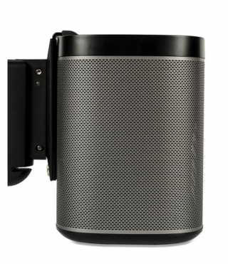 FLEXSON - Support mural Fixation SONOS PLAY:1 Wall Mount - Noir (Single)