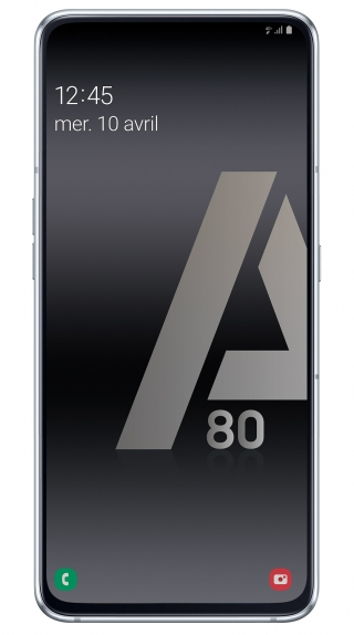 SAMSUNG - Smartphone Galaxy A80 Double Sim 128Go Argent