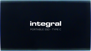 INTEGRAL - Disque SSD externe USB 3.1 Portable SSD Type-C - 480 Go INSSD480GPORT