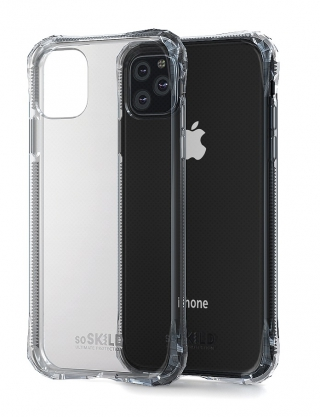 SOSKILD - Coque iPhone Coque SoSkild Absorb Transparent iPhone 11 Pro