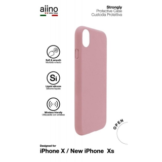 AIINO - Coque iPhone Strongly cases iPhone XS - Pink