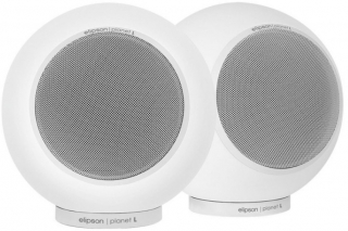 ELIPSON - Enceinte bluetooth ELIPSON PLANET L 2.0 MERCURY ICE SATIN SPEAKER