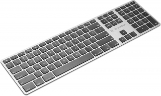 XTREME MAC - Clavier sans fil XM-KEY-BT4-SLV Clavier bluetooth (Mac OS, Windows)