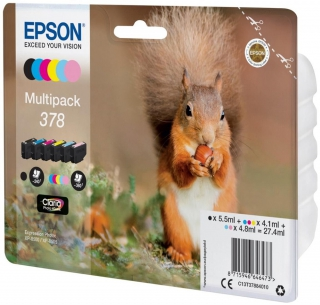 EPSON - Pack cartouches d'encre Multipack Claria Photo HD T 378 T 3788
