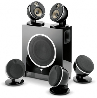 FOCAL - Pack d'enceintes Home Cinema DOMEFLAX5.1BLK