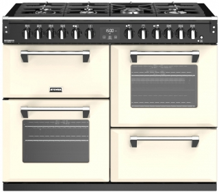 STOVES PRICHDX110DFCH PIANO CUISSON RICHMOND DELUXE 110 DFT CREME