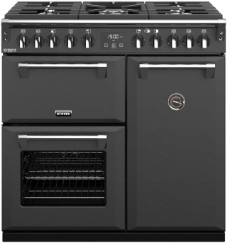 STOVES PRICHDX90DFANT PIANO CUISSON RICHMOND DELUXE 90 DFT ANTHRACITE