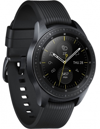 SAMSUNG - Montre connectée Galaxy Watch Noir Carbone 42mm 4G