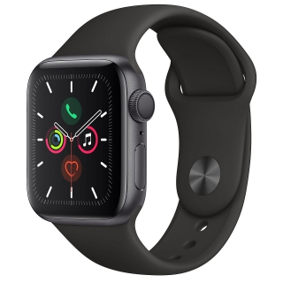 APPLE - Montre connectée Watch Series 5 GPS 40mm Aluminium Gris Sport