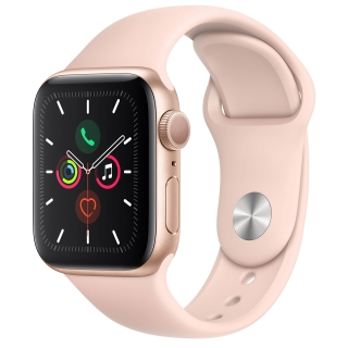 APPLE - Montre connectée Watch Series 5 GPS + 4G 40mm Aluminium Or Sport