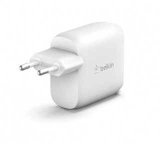 BELKIN - Adaptateur allume-cigare WCD001vf1MWH chargeur secteur 2 ports USB-A
