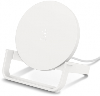 BELKIN - Chargeur induction WIB001vfWH chargeur indcution blanc stand