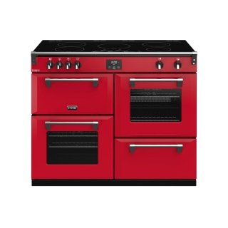 STOVES PRICHDX110EIJAL PIANO CUISSON RICHMOND DELUXE 110 EI ROUGE JALAPENO