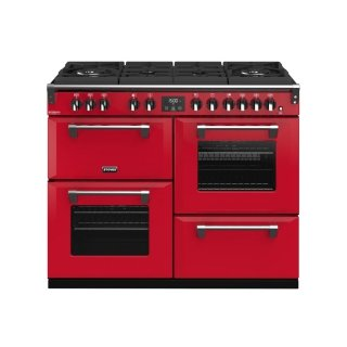 STOVES PRICHGL110DFJAL PIANO CUISSON RICHMOND GLASS 1 10 DFT ROUGE JALAPENO