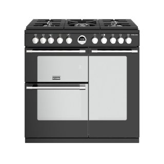 STOVES PSTERS90DFBL PIANO CUISSON STERLING S 90 DF T NOIR