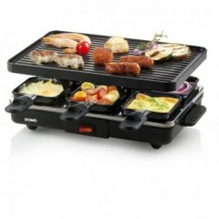 DOMO DO9188G RACLETTE GRILL 6P
